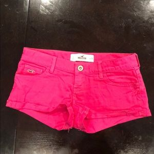 PINK Hollister Jean Shorts